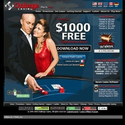 Challenge Casino | £€$ 1000 Free Bonus (175%) + Gratis Free Spins