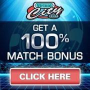 Virtual City Casino banner 250 x 250