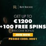Roy Richie Casino Online 1200 EUR bonus and 100 extra spins