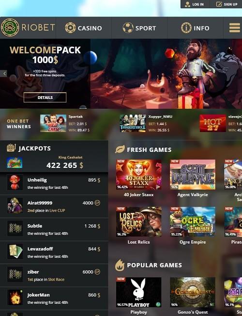 Riobet Online Casino