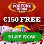 Fortune Room Casino €150 gratis (100% bonus) and 100 free spins
