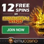 EmuCasino.com 12 free spins bonus without deposit