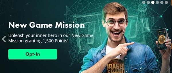 VoltCasino missions, tournaments, prizes