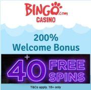 Bingo Casino free spins