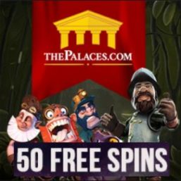 The Palaces Casino 50 free spins and 300% up to £250 free bonus
