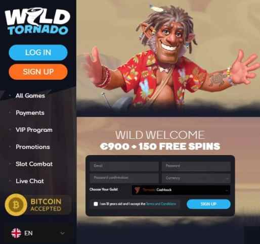 WildTornado Casino