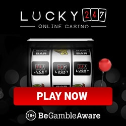 Lucky247 Casino 50 gratis spins and €500 free bonus money