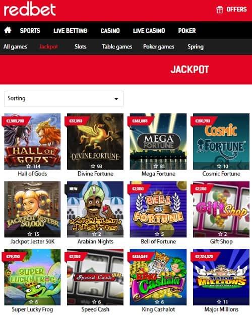 Redbet.com Online Casino, Poker, Sportsbook, Live Dealer - Review