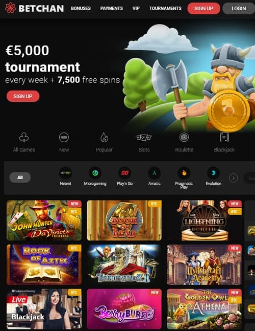 Bet Chan Casino review