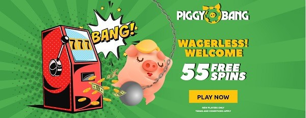 55 Gratis Spins no wager conditions