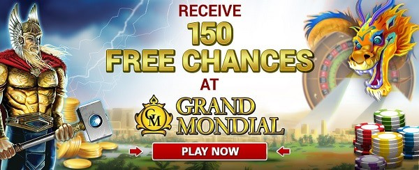 Deposit $10 and get 150 free spins