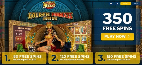 Exclusive Welcome Bonus (350 Free Spins)