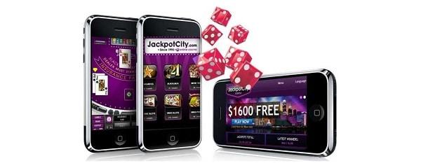 JackpotCity Casino mobile games