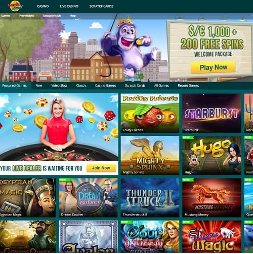 Luck Land Casino free spins bonus
