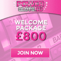 Power Slots Casino 200% bonus and €800 free spins on deposit