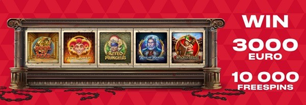 FAVBET 10000 free spins on slots