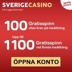 SverigeCasino | 1200 free spins and no deposit bonus | review