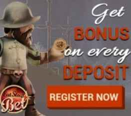 EatSleepBet Casino 10 free spins + €600 gratis + 225% bonus