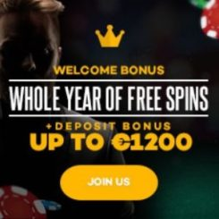 Shadow Bet Casino €$£1200 free bonus and 520 free spins