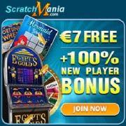Scratch Mania Casinon banner 250x250