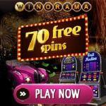 Winorama.com – £/€/$7 gratis bonus or 70 free spins no deposit required