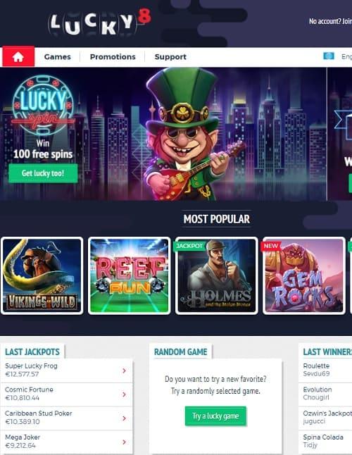 Lucky8.com Casino Online & Mobile