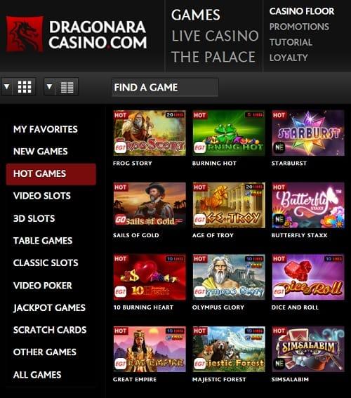 Dragonara Online Casino