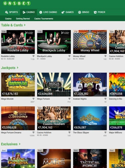 Unibet.com Review