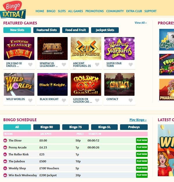 Bingo Extra Casino review and rating