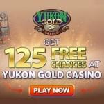 How to claim 125 free spins on Mega Moolah at Yukon Gold Casino?