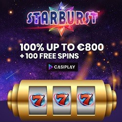 Casiplay.com Casino 100 gratis spins and €800 free bonus