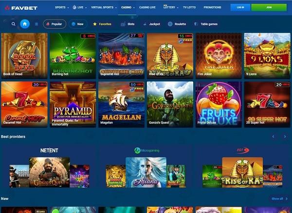 Fav Bet Casino Review