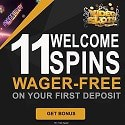 Videoslots Casino 11 gratis spins + 100% up to €200 welcome bonus