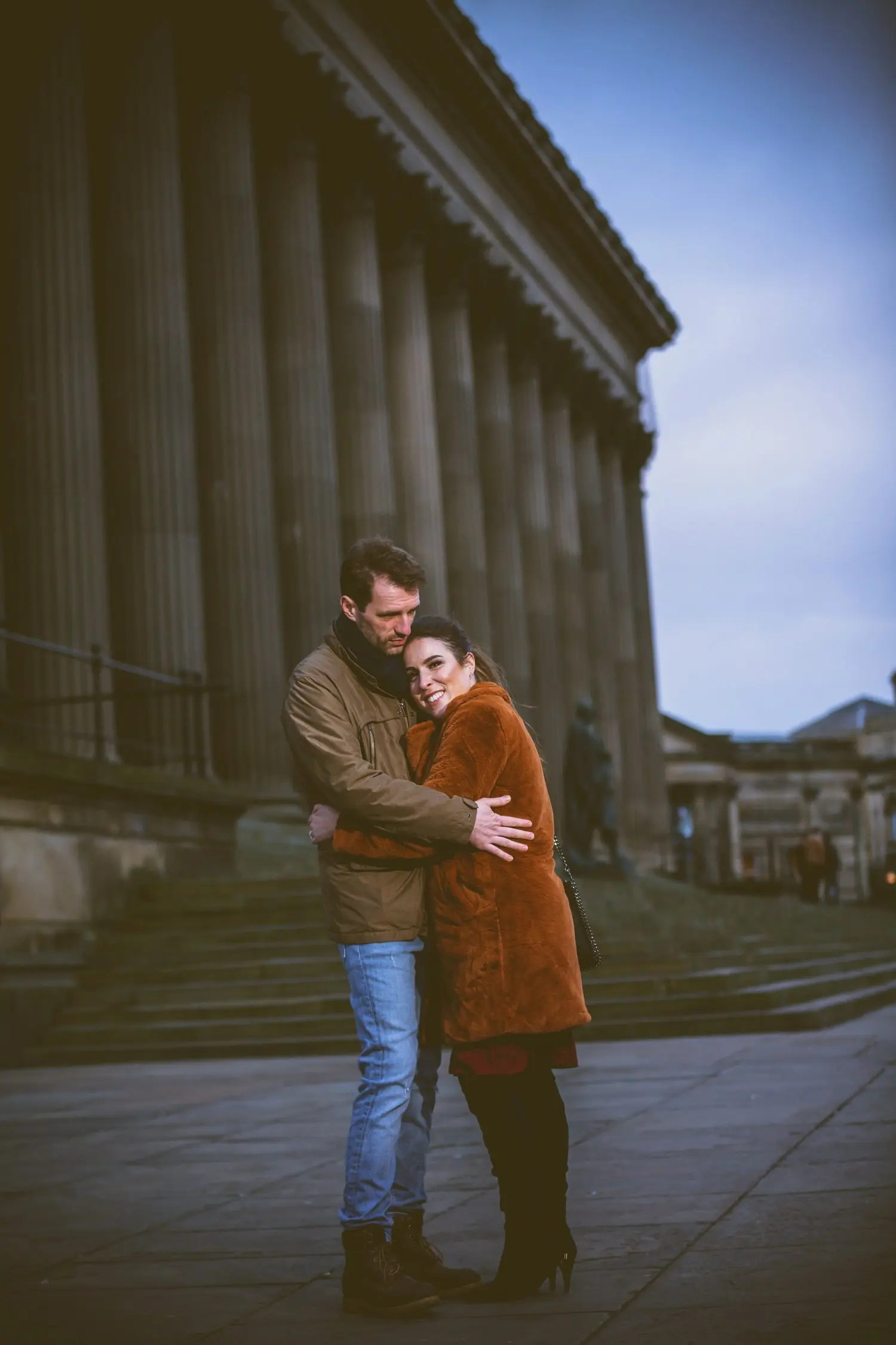 Liverpool Pre-wedding photo shoot