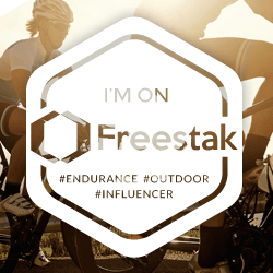 Freestak Endurance Sports Influencer Platform - Badge Road Cycle