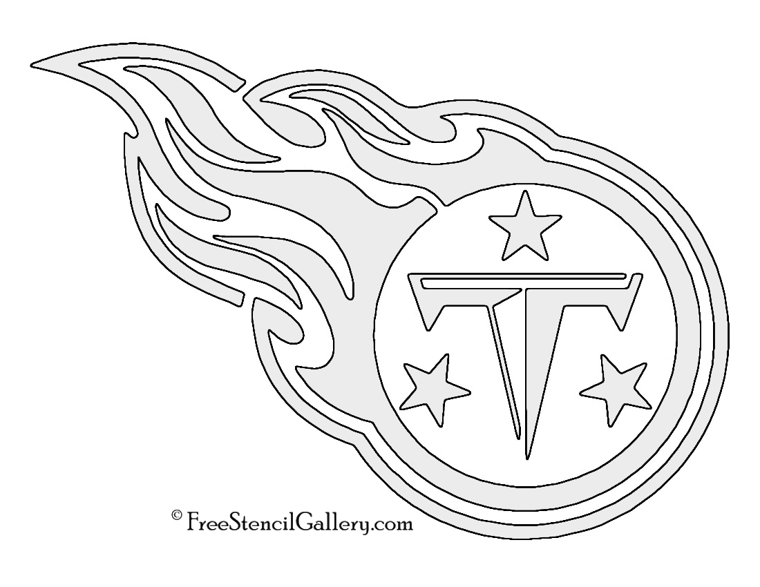 Tennessee Titans Coloring Pages