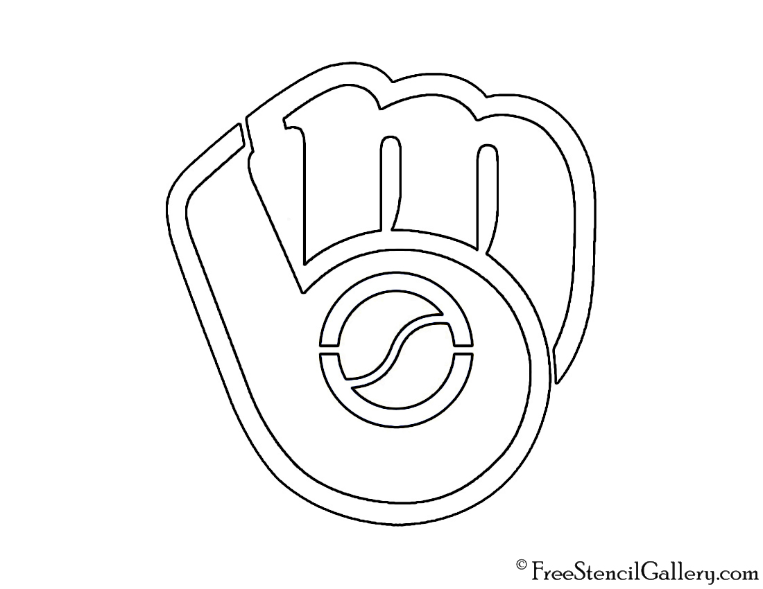 Milwaukee Brewers Coloring Pages