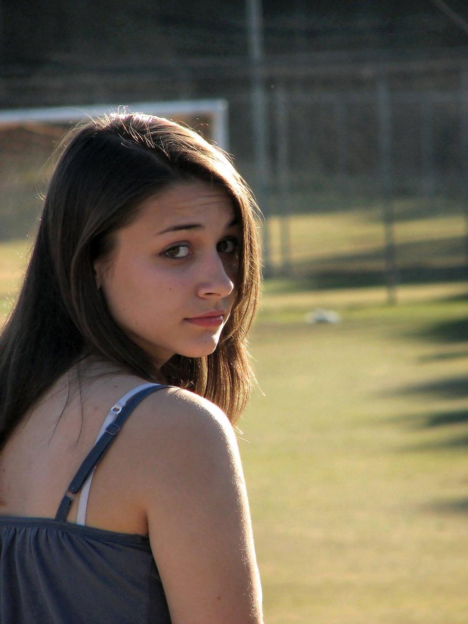 Girl Beautiful | Free Stock Photo | Outdoor portrait of a ... on Beautiful Teen Girl  id=30279
