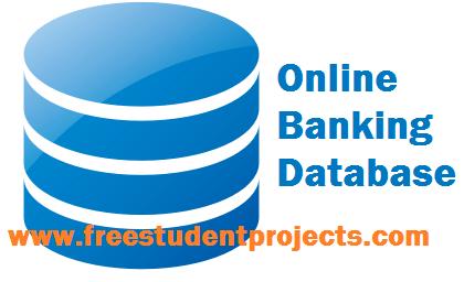 Online banking Database design