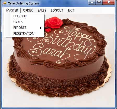 Cake Ordering System