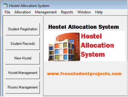 Hostel Allocation System