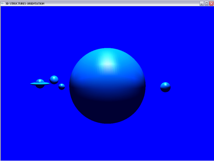3D-Structures Orientation in OpenGL