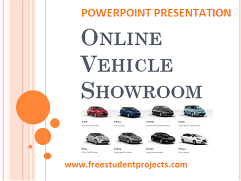 Vehicle Showroom ppt