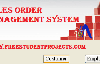 Testing report of Sales order management system