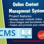 Online Content Management system