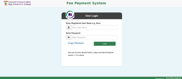 Online College Fee Payment System