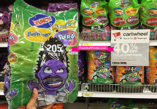 Target / holiday shop / halloween / halloween candy & treats / halloween snacks (57). Hot 40 Off Halloween Candy At Target Today Only Free Stuff Finder