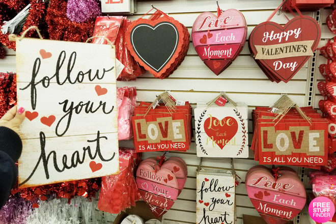 1 Valentines Day Finds At Dollar Tree Decor Candy