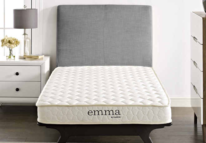 For A Limited Time Only Head Over To Where You Can Score Modway Emma 6 Two Layer Memory Foam Twin Mattress In White 68 Free Shipping