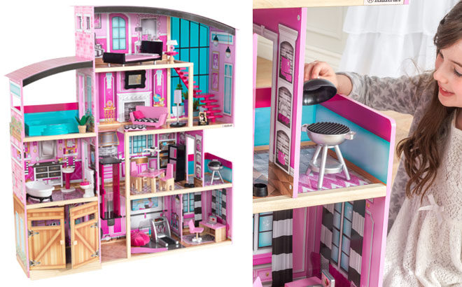 Kidkraft Shimmer Mansion Dollhouse For Only 165 Free